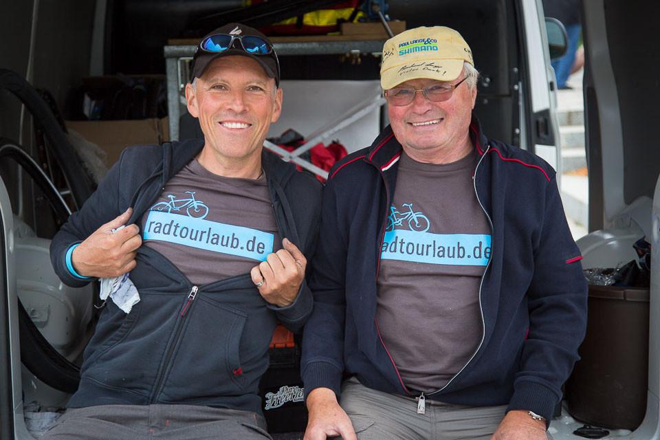 Jörg und Frank vom Reparaturservice