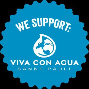 We support blau